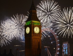 NYE Big Ben Midnight