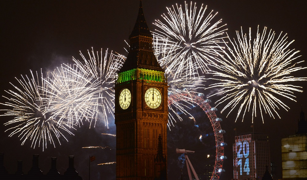 The Mayor of London New Year's Eve 2014