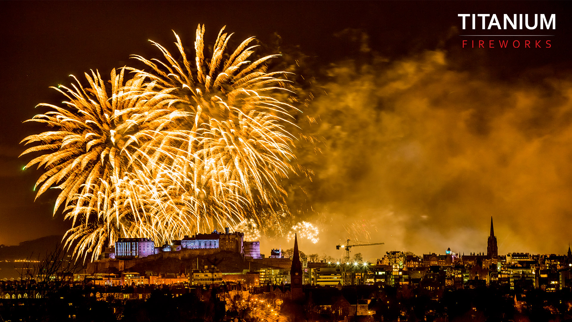 Edinburgh, hogmanay, fireworks, new year's eve, new year, 2014, titanium fireworks, display, professional company