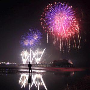 Blackpool, fireworks, championships, titanium fireworks