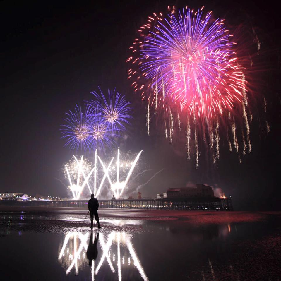 Blackpool's World Fireworks Championships 2015
