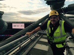 rugby world cup, world cup, 2015, stadium, fireworks, opening ceremony, twickenham, rigging
