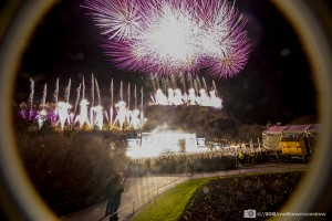 Edinburgh Hogmanay Street Party: 2016 Fireworks