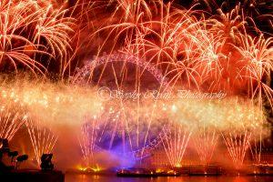 Titanium Fireworks NYE 2016 London