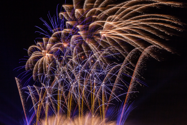 KCS fireworks Justin Ward Photography