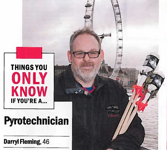 Darryl's feature in Timeout Magazine
