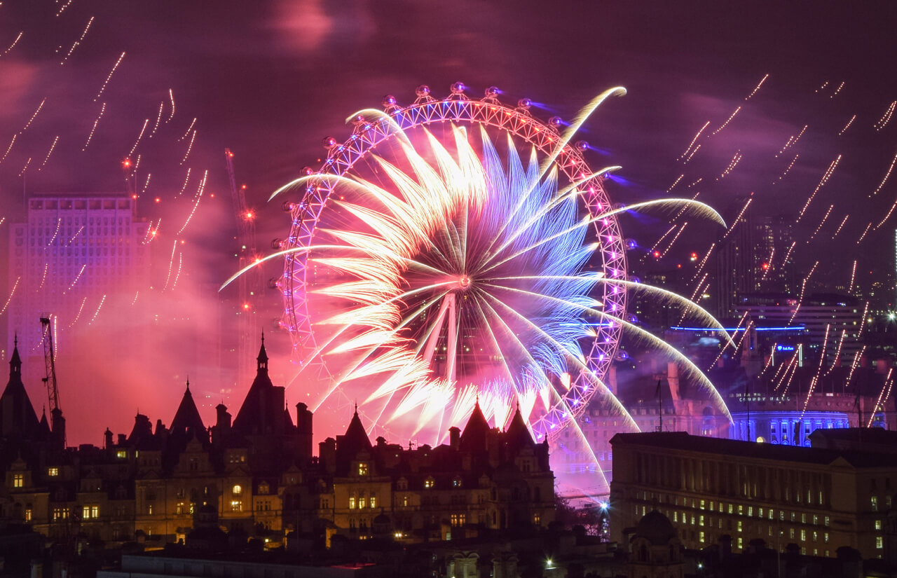 London New Years Eve 2018