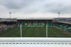 Northampton Saints – Opening of the Barwell Stand