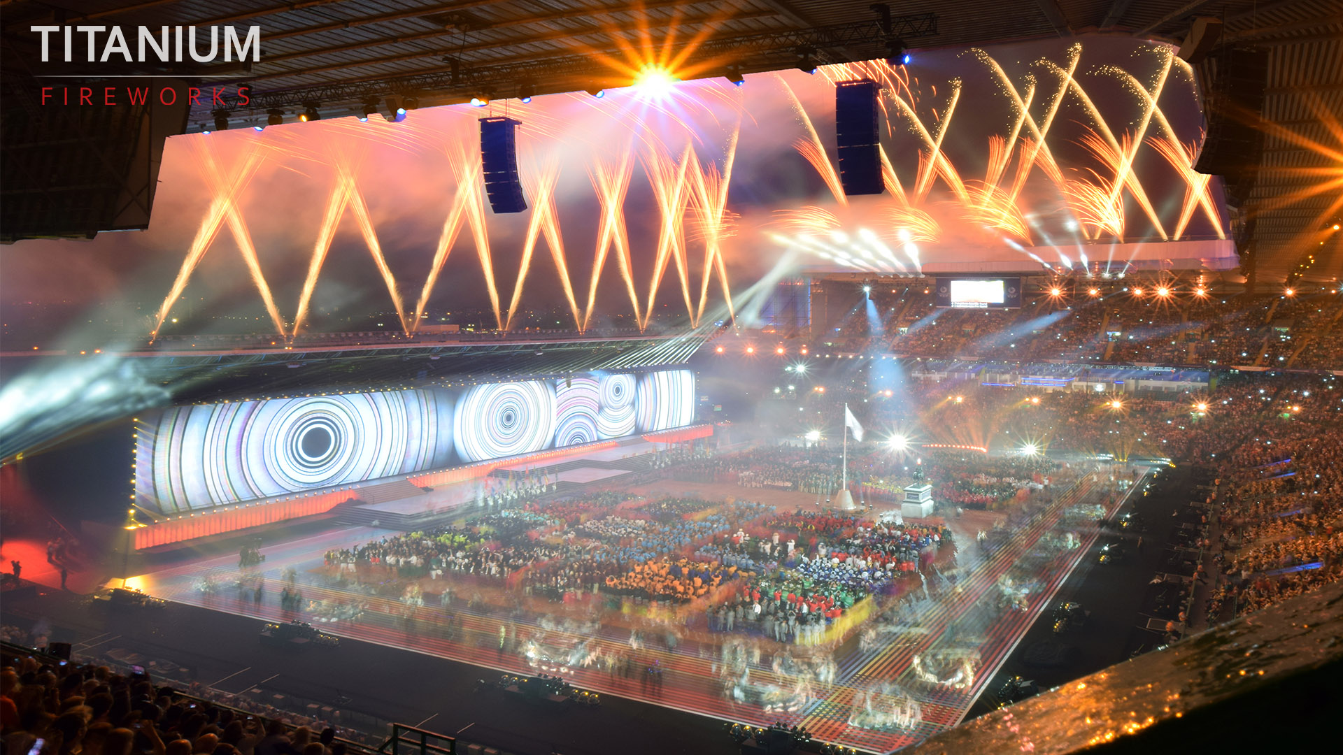 Glasgow 2014 Stadium Orange