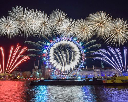 London New Year 2018 Fireworks Photo credit Nick Alloway