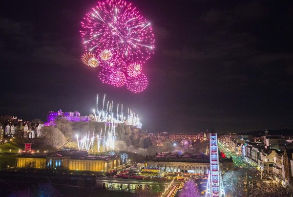 Edinburgh's Hogmanay 2018 Slider credit Chris Watt