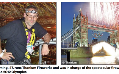 The man behind the London New Years Eve Fireworks