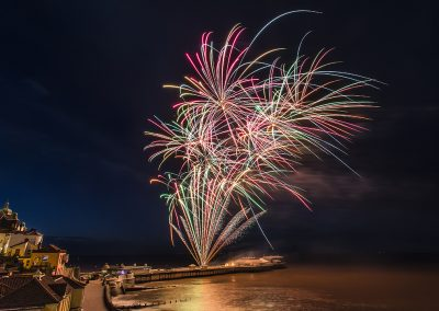 Cromer New Years Day 2018 credit Ian Ward