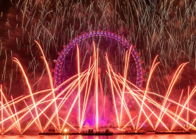 London NYE 2019 Credit Ian Ward