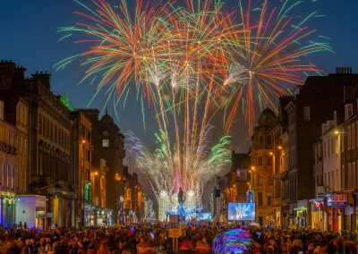 Edinburgh Light Night 2018