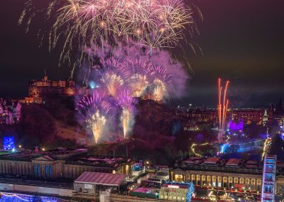 Edinburgh's Hogmanay 2020 Credit EdinburghPhotoWalks